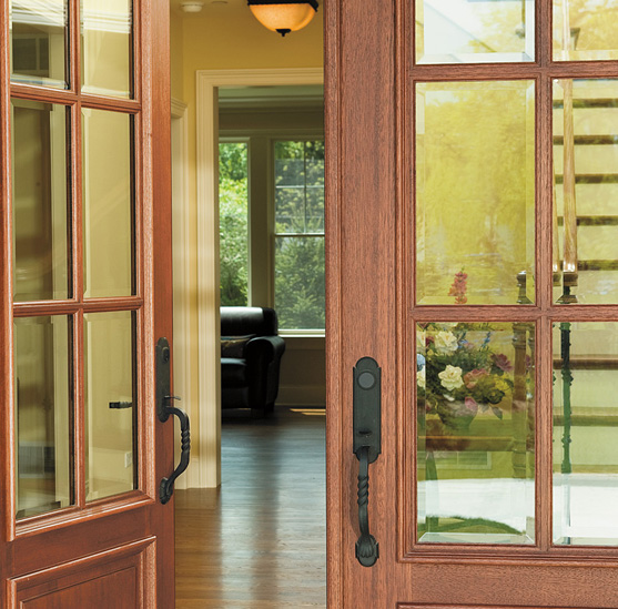 There are a number of features to consider with any exterior door choice.