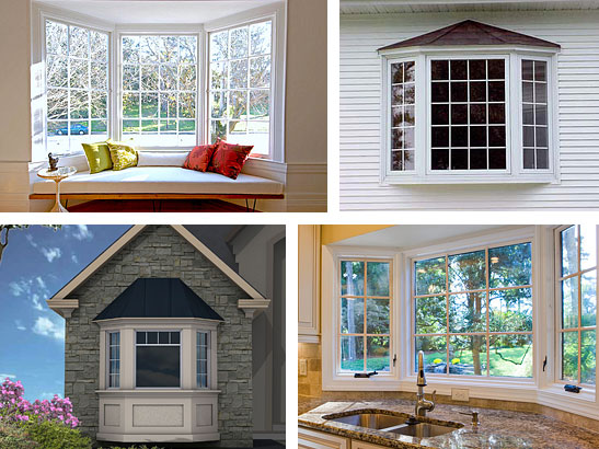 Bay Style WindowsA bay window consists of three individual units. The  center unit is parallel to the exterior wall. The left and right-side  (flanking) units ...